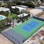 מגרש טניס במושב אמונים