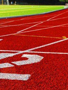 מגרש ספורט אחרי חידוש אספלט